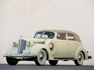 Packard Eight Convertible Sedan 1938 года